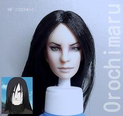 Orochimaru custom Obitsu head (Lucy_Gamova) Tags: male doll snake ooak naruto orochimaru obitsu