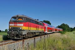 P1660061 (Lumixfan68) Tags: photoshop deutschland fake bahn deutsche 218 loks baureihe dieselloks