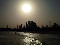 A blessed morning to all. From Kuwait city with love. (ix_vengifor) Tags: sea sun sunlight beach sunshine sunrise wonderful amazing awesome super sundog kuwaitcity newlife newday newbeginning