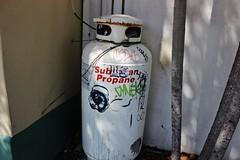 Malvo, Cyne, UFD (NJphotograffer) Tags: graffiti graff florida fl key west malvo btm crew cyne ufd sticker usps