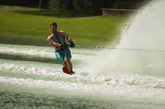 JULY8068 (CameraGirl57) Tags: water jump texas skiing tournament cypress trick slalom 2014