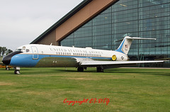 McDonnell Douglas  VC-9C 73-1683 Evergreen Museum (EI-DTG) Tags: oregon evergreen usaf dc9 douglasdc9 mmv planespotting aircraftmuseum aircraftspotting mcdonnelldouglasmd80 evergreenmuseum 731683 vc9 22jun2014