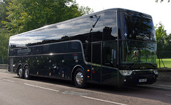 Ellisons Travel Altano YD14GDV, Manchester City team coach at St Andrews, 15th July 2014 (andyflyer) Tags: volvo standrews ellisons ellisonscoaches teamcoach altano ellisonstravel yd14gdv
