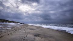 Winter am Meer (blichb) Tags: 2016 deutschland leicaq leicasummilux11728asph meer nordsee schleswigholstein sylt blichb winter schnee sand list de