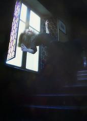 The house (Indiesigh Ph) Tags: house girl model indiesigh levitation photography photographer photoshop reflex creative dark strange dream onirico window place stairs scale contrast light texture art digitalmanipulation digital dress