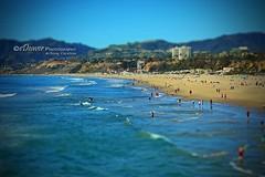 """Santa Monica State Beach"" (edeevo) Tags: california santamonica pacificocean pacificcoasthighway highway westcoast ocean beach sand water surf surfer surfers sun sunset edeevo edeaver edeaverphotography digitalcreations creations nikon"