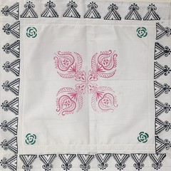 Hand Block Printing in India (Louise Best) Tags: printmaking blockprinting blockprintingbyhand printing inks india