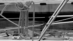 Sailor's knot (patrick_milan) Tags: rope cordage aussire accastillage buoy boue flotteur hublot porthole bout taquet latch