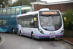 First Hampshire 47589 - SN14 ECJ (Bristol MW Driver) Tags: portchester canoneos1ds firsthampshiredorset 47589 sn14ecj