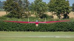 Fauvel AV36 Landing (Glenn.B) Tags: fauvelav36 glider oldwarden sailplane shuttleworth shuttleworthedwardianpageant