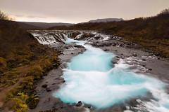 Brarfoss waterfall (Tmas Freyr) Tags: iceland southiceland fall foss haust landscape landslag water waterfall island bruara bruarfoss brarfoss brar suurland sudurland