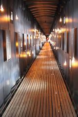 The Steilneset Memorial, Vard - Interior (2) (Phil Masters) Tags: vardo norwayholiday norway july2016 19thjuly vard steilnesetmemorial steilneset memorial peterzumthor installationart