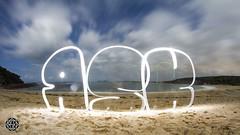 Beach (MISHKA Vision - Light Graffer) Tags: australie australia lightpainting lightgraff longexposure expositionlongue nightphotography roadtrip