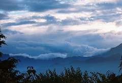 Alishan 09-2016-07 (bluetrayne) Tags: landscape sky cloudy clouds mist sunrise dawn longexposure filmphotography analogphotography taiwan asia alishan nature naturephotography  mountain mountains