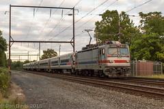 Toasted Toaster (Dan A. Davis) Tags: septa train railroad locomotive passengertrain pennsylvania langhorne push pull