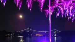 Shiny balloon installation at the Harmony Arts Festival in West Vancouver, BC (albatz) Tags: lionsgate bridge bluemoon shining water shiny balloon installation harmonyartsfestival westvancouver bc light