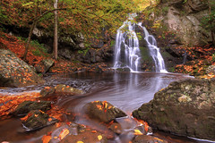 Go with the Flow (Waterfall Guy) Tags: spruce flats falls great smoky mountains national park tennessee waterfall long exposure autumn fall leaves