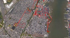 September 2016 My Tracks (Hoboken) (quiggyt4) Tags: mytracks android google googlemaps googleearth phone cellphone running walking gps gpstracking gpstracks map location locationhistory manhattan midtown nyc newyork newyorkcity nj newjersey leonia weehawken fortlee hoboken jerseycity massachusetts newengland boston worcester rhodeisland newport middletown providence boylston wachusett connecticut occupy ows occupywallstreet trump donaldtrump ronpaul