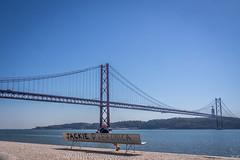 Pont du 24 avril (imagene74) Tags: lisbonne pont tage banc