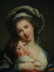 VIGE-LE BRUN Elisabeth,1786 - Portrait de l'Artiste avec sa Fille, La Tendresse maternelle (Louvre) - Detail -d (L'art au prsent) Tags: art painter details dtail dtails detalles painting paintings peinture peintures 19th 19e peinture19e 19thcenturypaintings 19thcentury detailsofpainting detailsofpaintings tableaux personnage figure figures people personnes portrait elisabethvigelebrun elisabeth vigele brun aristocrate aristocrat aristocratie aristocracy noblesse nobility femme woman beauty beaut lgant elegant elegantwoman robe dress dresses young jeune jeunesse youth louvre paris france portraitdelartisteavecsafille latendressematernelle julie daughter fille family littlegirl girls littlegirls petitefille jeunefille girl fillette female autoportrait selfportrait