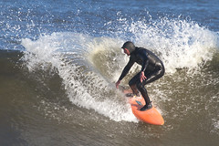 Surfing Sandy Hook (Denise Pelley) Tags: sandyhook surfing sandyhooksurfing november82016 waves bigwaves surfingsafari surfer