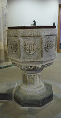 Font in the church of St Giles and St Mary, Pontefract, Yorkshire (janetg48) Tags: gwuk font pontefract church stgiles stgilesandstmary yorkshire