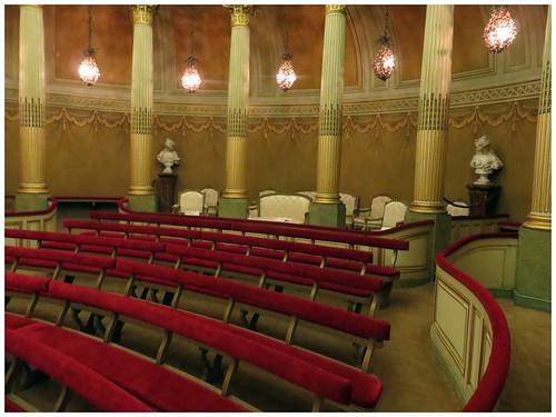 """Château de la Verrerie,Le """"Petit Théâtre"""""""