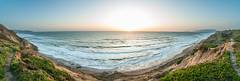 Sunset in San Francisco (photOHgraphy) Tags: sanfrancisco fort funston fortfunston panoramic sunset nature