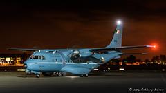irish Air Corps CASA C295 Maritime 252 (DrAnthony88) Tags: casacn235mpa irishaircorps modernmilitary nikkoraf80400mmf4556edvrd nikond810 propblur rafnortholt 252 aircraft