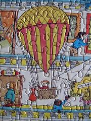 November miscellany (graeme37) Tags: jigsawpuzzle cartoonjigsaw