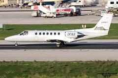 OK-SLS LMML 21-11-2016 (Burmarrad (Mark) Camenzuli) Tags: airline silesia air aircraft cessna 560 citation v registration oksls cn 5600088 lmml 21112016