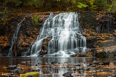 Wadsworth Again (Isaac 9's Photography) Tags: isaacninesphotography nikon d750 85mm 18 afd middletownct wadsworthfalls autumn fall water longexposure