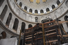Rotunda and Aedicule, Church of the Holy Sepulchre, Old City of Jerusalem (R-Gasman) Tags: travel rotundaandaedicule churchoftheholysepulchre christianquarter oldcityofjerusalem israel