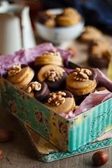 IMG_3924_exp (Helena / Rico sin Azúcar) Tags: galletas cookies nueces nuts walnut naranja orange almendra almond chocolate vanilla vainilla mantequilla butter dessert food christmas