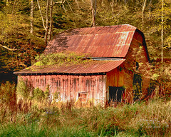 Weathered (Chris Ehrlich Photography) Tags: cde photography barn red landscape old worn weathered abandoned valle crucis nc