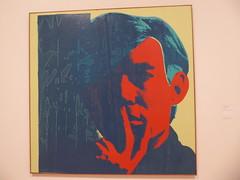 Andy Warhol - Self-Portrait 1967 (c_nilsen) Tags: andywarhol sanfrancisco california digital digitalphoto sanfranciscomuseumofmodernart museum art