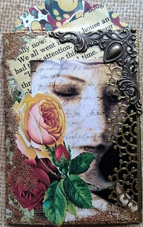 Book Page with a Rose