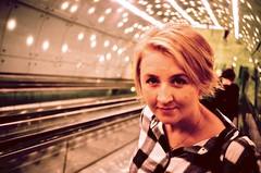 Warsaw. Summer 2016. (Marcin Kubiak) Tags: expiredfilm rollei velvia xpro 35mm analog believeinfilm filmphotography grain urban warsaw