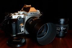 Nikon Df (cnmark) Tags: nikon camera kamera dslr df lens lenses objektiv objektive afd nikkor 85 35 mm f18 f20 tabletop allrightsreserved