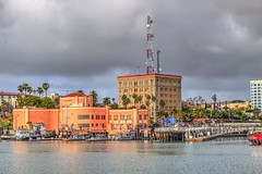 San Pedro from the harbor (Michael F. Nyiri) Tags: southerncalifornia california ocean sea pacificocean outdoor losangelesharbor