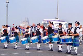 Peterhead 2014 Scottish Week Pipers