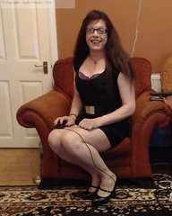 Oct 2016 (emilyproudley) Tags: crossdresser cd tv tvchix tranny trans transvestite transsexual tgirl tgirls convincing dress feminine girly cute pretty sexy transgender xdresser highheels gurl hosiery tights glasses