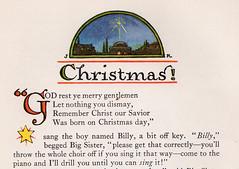 Christmas header (katinthecupboard) Tags: vintagechildrensillustrations 1937 johnrae raejohn winter cold
