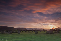 Castlerigg Stone Circle Sunset - EXPLORED (Photography by Chris Gregory) Tags: lee filters leefilters castleriggstonecircle sunset thelakedistrict longexposure england canon5d canon5dmkii canonef1740mm
