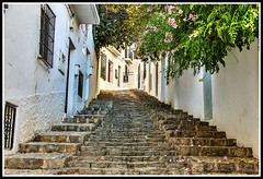 Paseando por Altea (edomingo) Tags: edomingo nikond200 nikkor35 altea cascoantiguo costablanca alicante