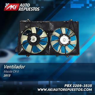 ventilador-mazda-cx5