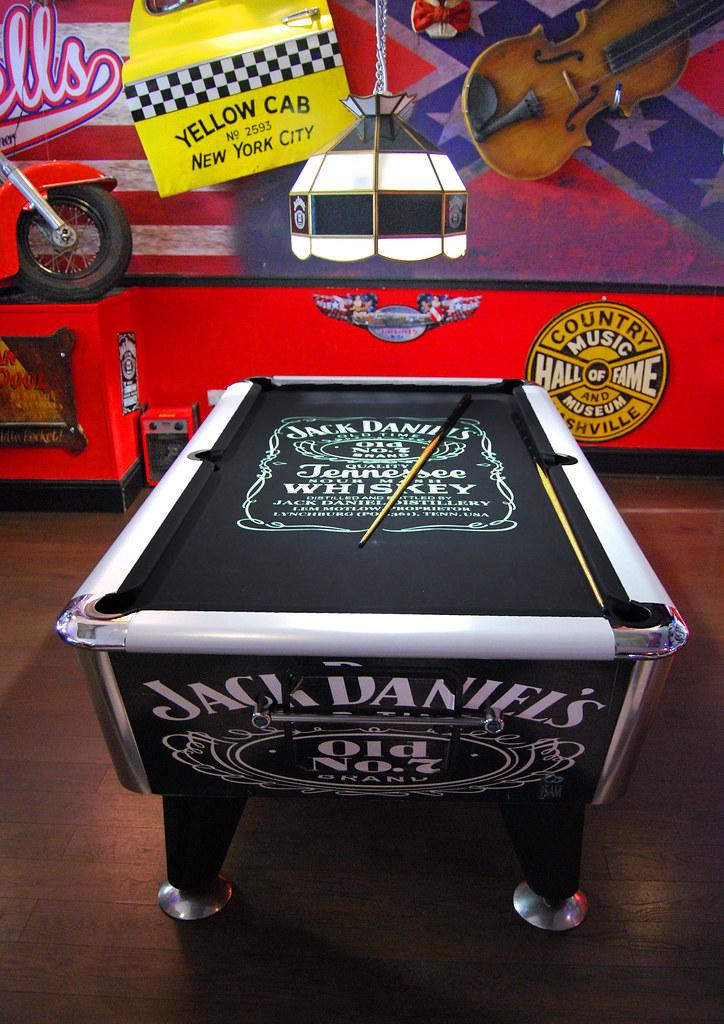 Jack Daniels Pool Table (davekpcv) Tags: Jackdaniel Jackdaniels Pooltable  Diner Oldno7 Whiskey