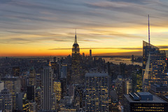 NYC Sunset - Top of the Rock at Rockefeller Center (LG REALTY GROUP INC.) Tags: rockefellercenter newyorkcity nyc sunset nature bigapple newyork urbanjungle skyline zeiss zeisslens sony sonyimages sonya7ii lgphotography miami streetphotography