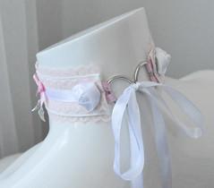 Little Angel Collar (ceressiass) Tags: white kitten play kittenplay lolita cute kawaii neko girl boy nekogirl handmade shop etsy nekollars cgl ddlg princess sewing accessories collar choker necklace costume