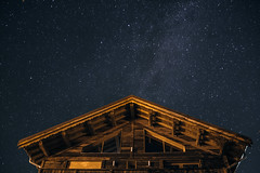 Into the high mountain (maxencebrierre) Tags: eos exposure stars blue color cold canon60d canon sky natural nature night art maxgrey dark light lightroom filter photoshop photographe photo france french white wild vsco maxencebrierre house m